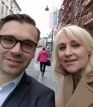 Michael Scharfmüller (Info-DIREKT) und Angelika Winzig (ÖVP)