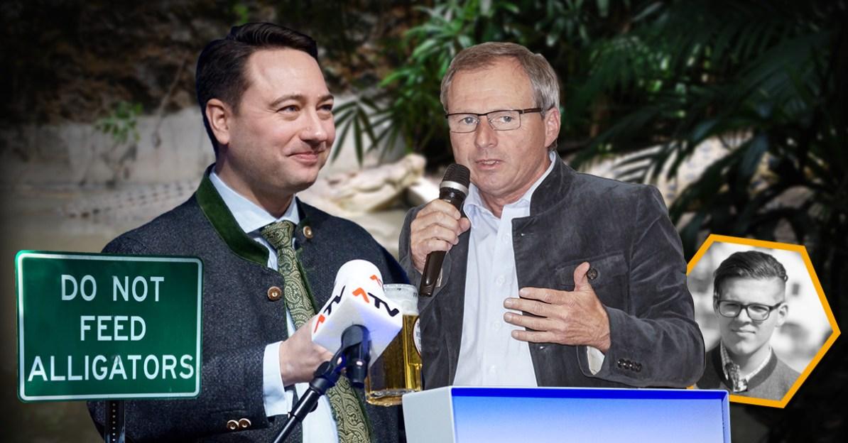 Manfred Haimbuchner und Wolfgang Klinger zum Thema Mischkulturen