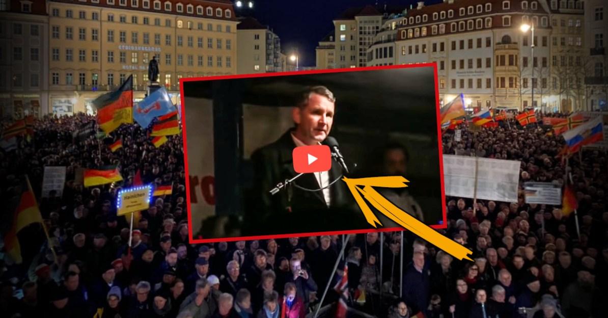 Björn Höckes Rede bei Pegida