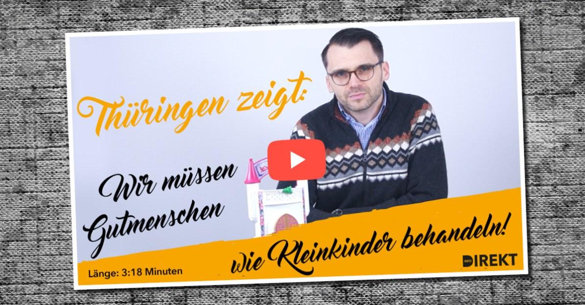Info-DIREKT-Redakteur Michael Scharfmüller über die Reaktionen auf die Wahl in Thüringen.