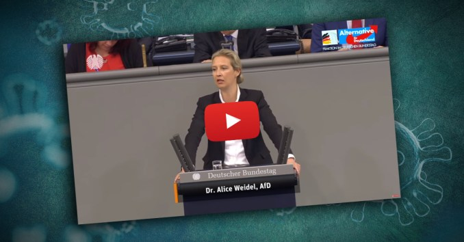 Schon vor Wochen wies AfD Fraktionsvorsitzende Alice Weidel auf vergangene Versäumnisse und dringenden Handlungsbedarf hin.