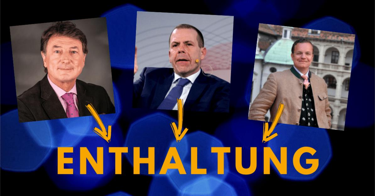 FPÖ nahm Wahlkampf-Geschenk der EU nicht an