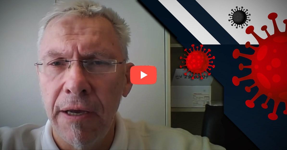 Der Virologe Prof. DDr. Martin Haditsch wandte sich via YouTube an die Öffentlichkeit um über Covid-19 zu informieren.