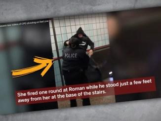 Die Polizistin feuerte aus kurzer Distanz auf den Unbewaffneten.