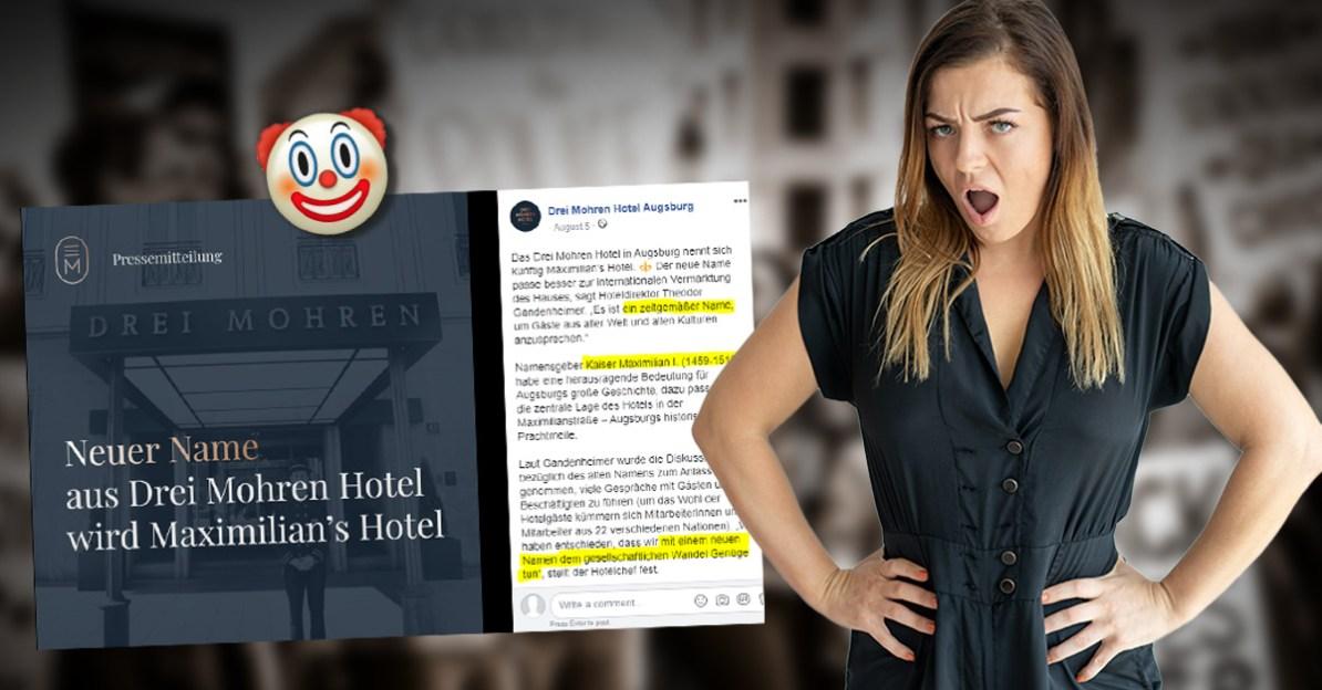 """""""Drei-Mohren-Hotel"""" ändert Namen und erntet Shitstorm"""