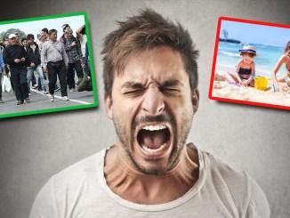Regierungsmotto: Migranten passieren, Urlauber schikanieren!