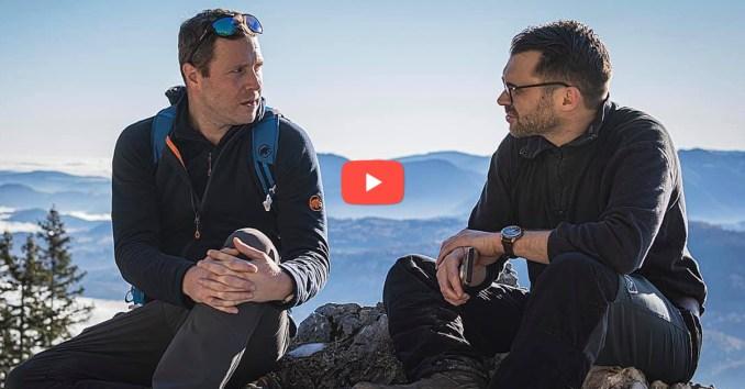 """Michael Schnedlitz bei einem Hintergrundgespräch am Berg mit Michael Scharfmüller: """"Mit der Distanziererei ist es jetzt vorbei!"""""""