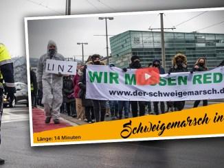 Schweigemarsch in Linz: Jetzt Protest in kleinen Gruppen organisieren