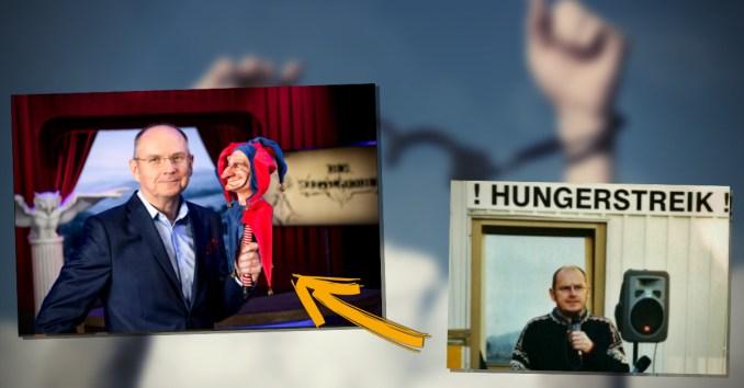 Ferdinand Wegscheider: Hungerstreik für Meinungsfreiheit