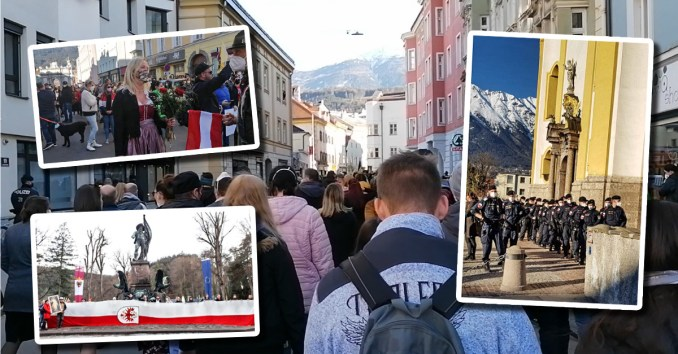 Corona-Demos: Blamage für Nehammer auch in Innsbruck