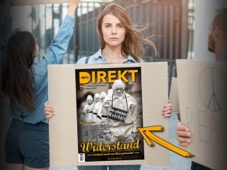 """""""Freiheit wird aus Mut gemacht"""" - Printmagazin zum Thema Widerstand"""