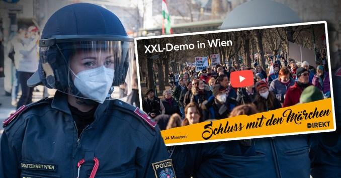 Schluss mit den Lügen: So war die XXL-Demo wirklich!