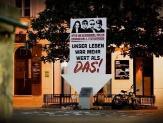 Wiener Terroranschlag: Patrioten werten Schanddenkmal der auf