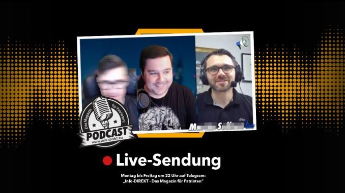 """Michael Scharfmüller (Info-DIREKT) zu Gast bei """"MS Live"""""""