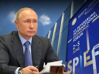 """Konkurrenz zum """"Great Reset"""": Das Wirtschaftsforum in St. Petersburg"""