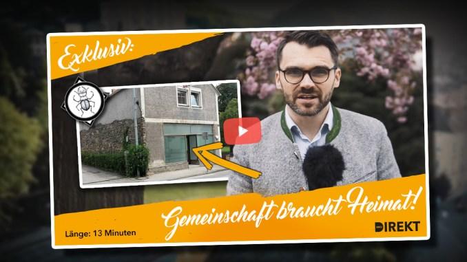 Exklusive Einblicke: Das neue patriotische Zentrum in Steyregg bei Linz in Oberösterreich