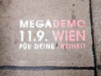 Am 11. September findet in Wien die nächste Megademo gegen die Corona-Maßnahmen der Regierung statt.