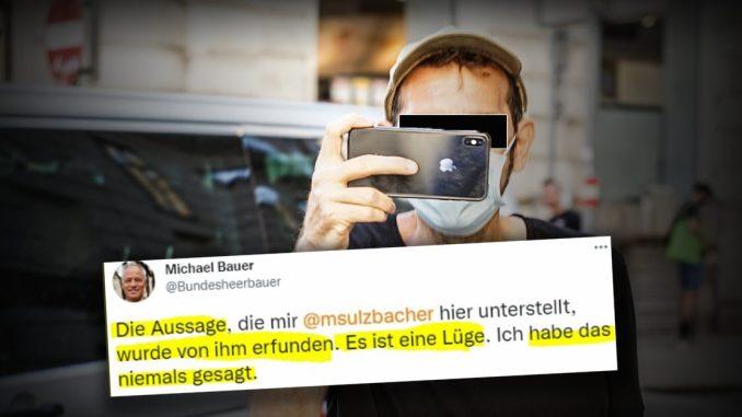 Standard-Rechtsextremismusexperte von Bundesheer-Sprecher der Lüge bezichtigt