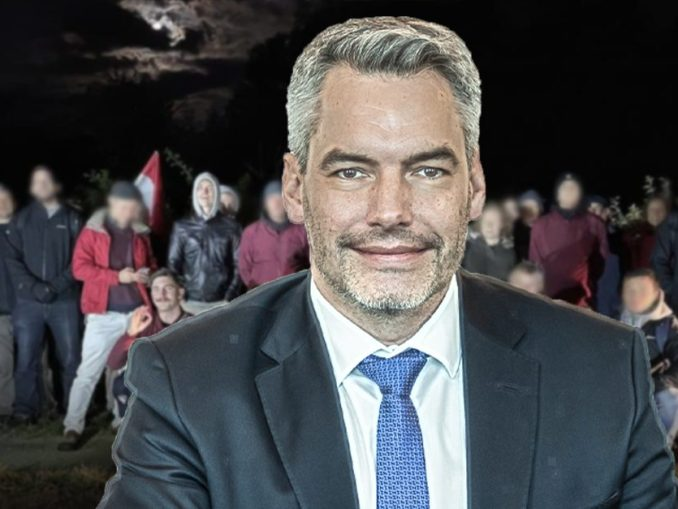 "Innenminister Nehammer tappte in ""Falle"" von Grenzgängern"
