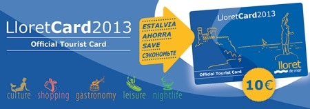 LLoretCard. Tarjeta turística de Lloret de Mar