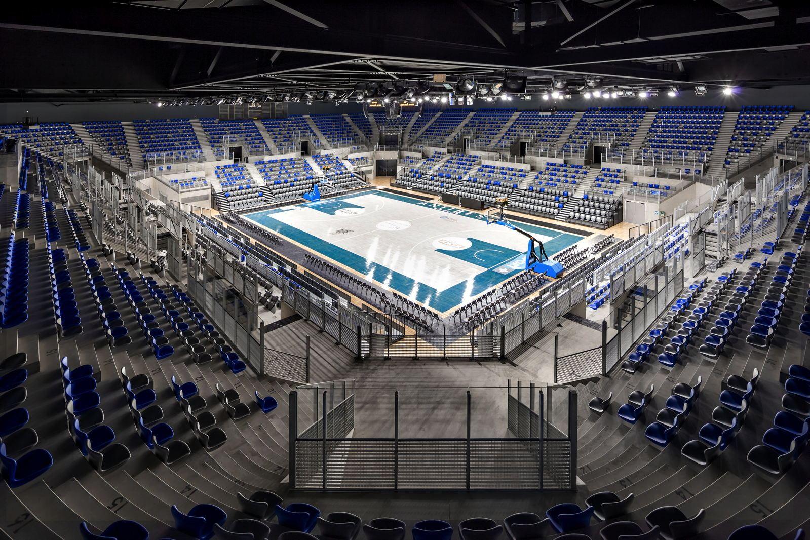 LAzur Arena DAntibes Inaugure