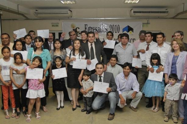 Egresados del Programa Secundario Minera Alumbrera LTD.