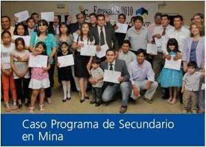 Programa de Secundario en Minera Alumbrera