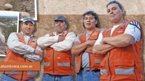 Brigadistas de Minera Alumbrera