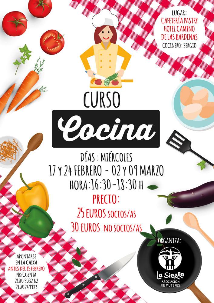 Curso Cocina La Sierra   Arguedas puerta de Las Bardenas