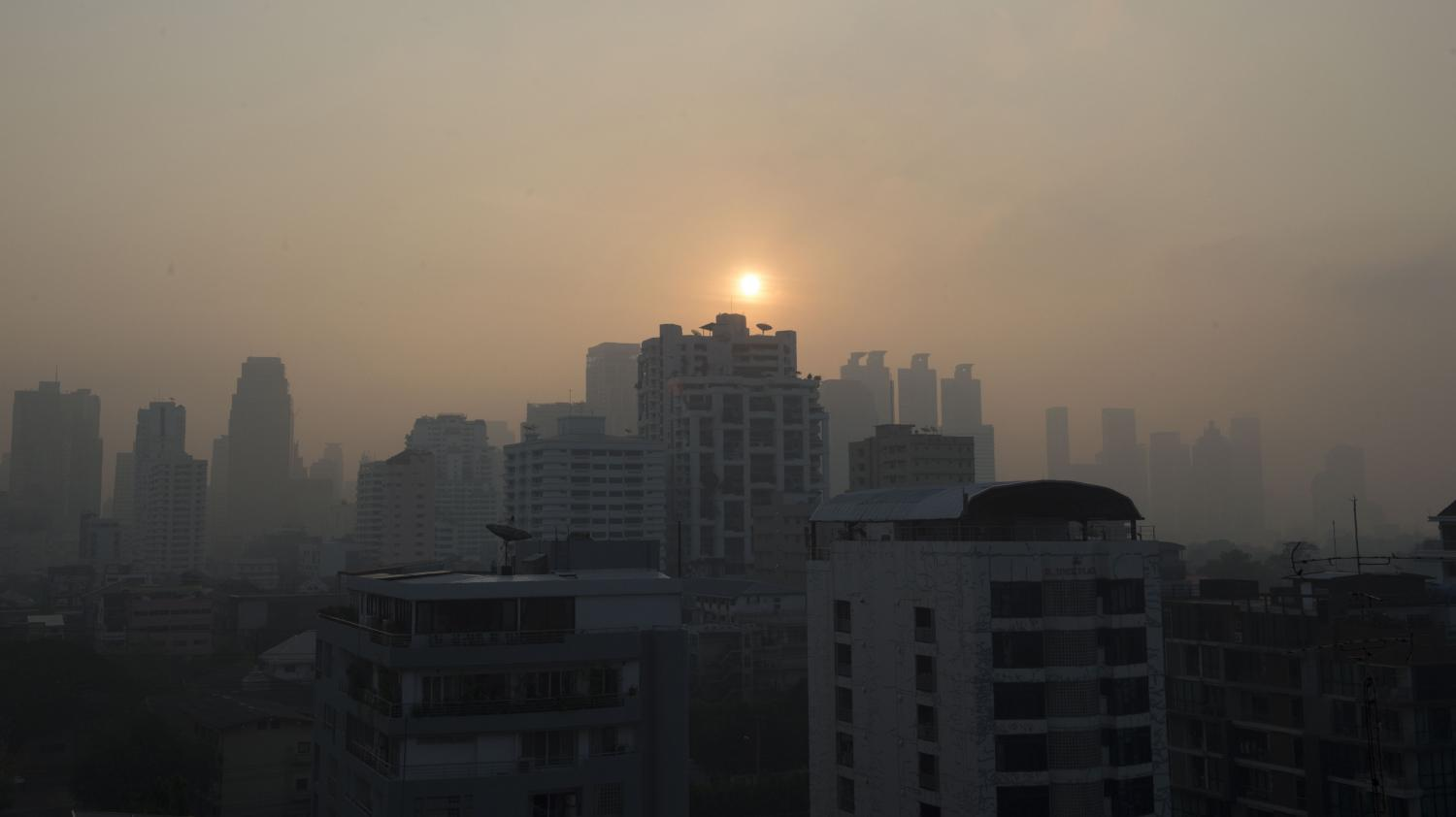 Thaïlande : Bangkok Suffoque à Cause D'un épais Nuage De Pollution
