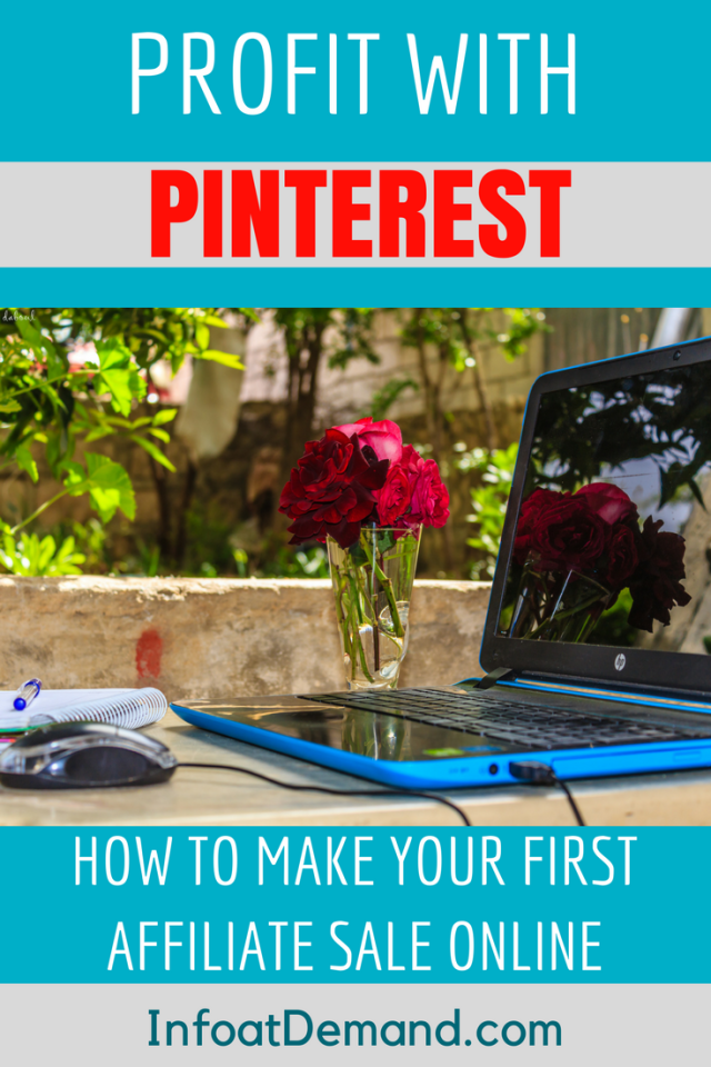 Learn how to use the power of Pinterest to make affiliate sales on your blog or website.