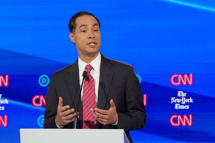 Julian Castro and a group of Latino congressmen Democrats have criticized the Mexican government for not congratulating Biden on his victory (Photo: Shannon Stapleton / Reuters)