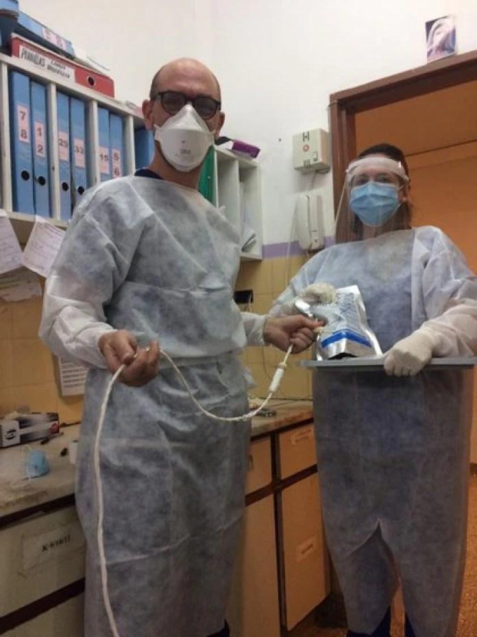 Para formar parte del ensayo, los pacientes debían presentar neumonía severa y cumplir con los criterios de inclusión y exclusión previstos en el protocolo (Htal Italiano)