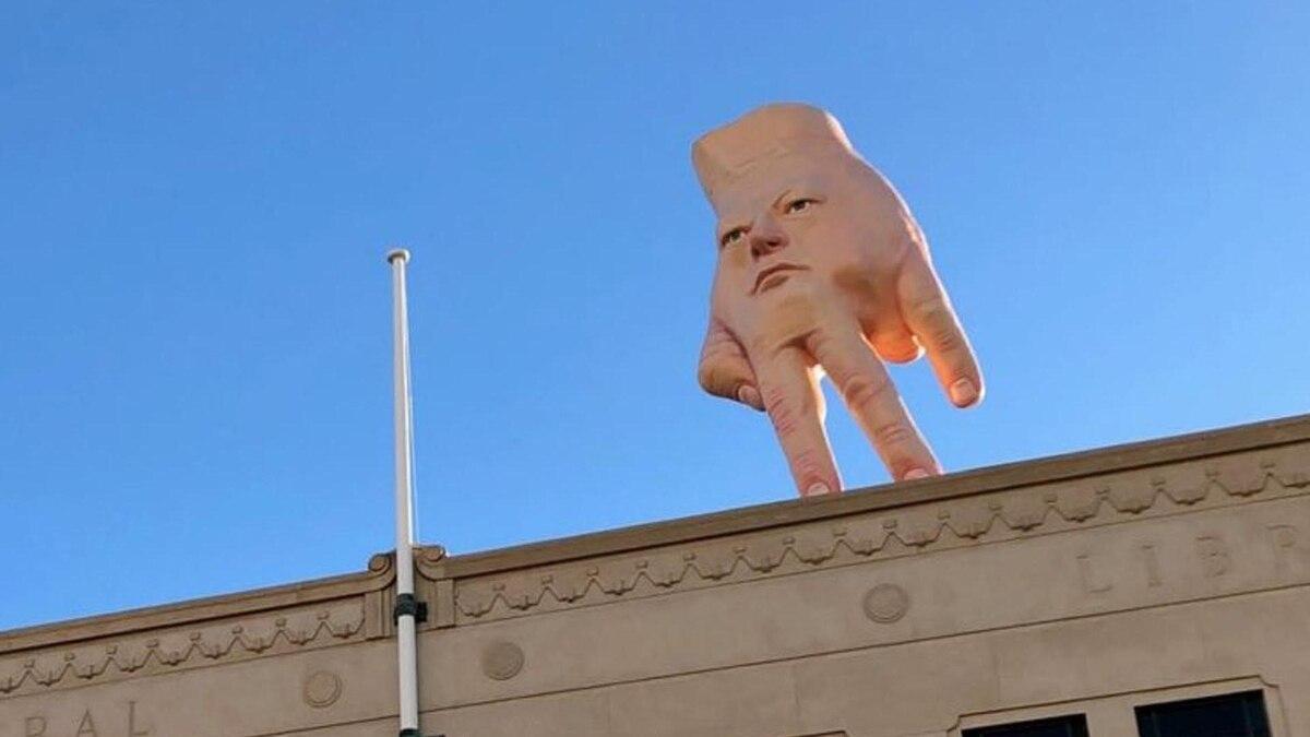 Mide 5 metros de alto, pesa 4 toneladas y costó USD 57 mil: ¿le gustaría ver esta escultura en su ciudad?
