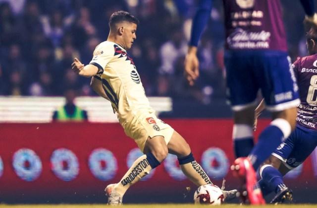 Richard Sánchez dio la asistencia para el gol de la victoria (Foto: Twitter @ClubAmerica)