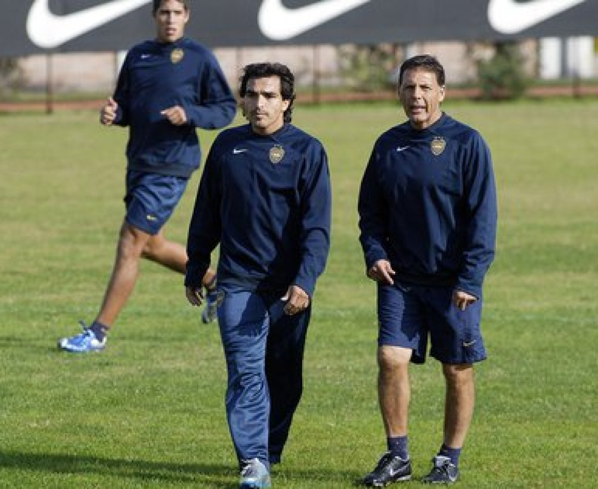 Morel Rodríguez will meet again with Russo and Riquelme in Boca (Photo Baires)