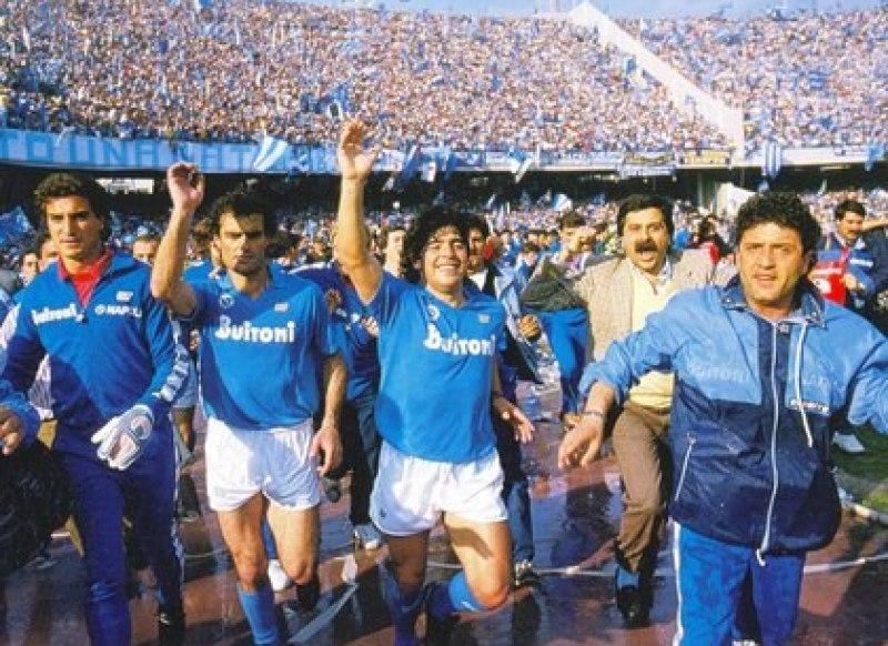 Diego Maradona dejó una enorme huella en el Calcio italiano en su paso por Napoli.