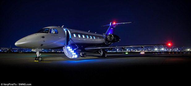 El transporte en jet privado y helicóptero contó con más demanda