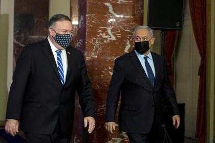 Días atrás, Pompeo había visitado a Netanyahu en Jerusalén (Reuters)