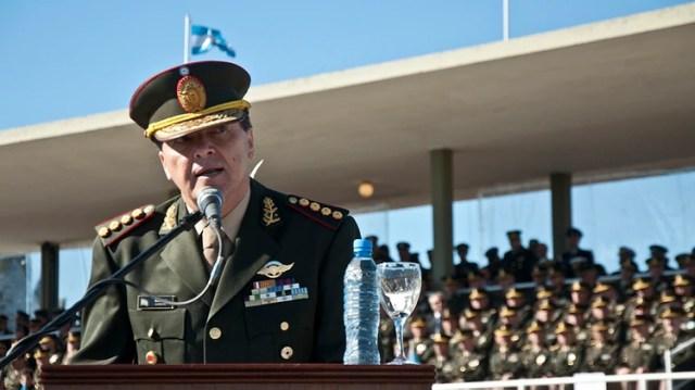 El ex jefe del Ejército César Milani se encuentra detenido desde febrero del 2017 (Adirán Escandar)