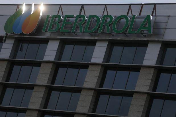 Imagen de archivo. El logotipo de la empresa española Iberdrola se ve fuera de su sede en Madrid, España. 23 de mayo de 2018. REUTERS / Sergio Pérez