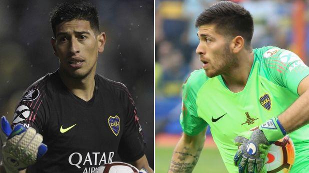 Andrada o Rossi: uno de los dos arqueros de Boca podría irse del club