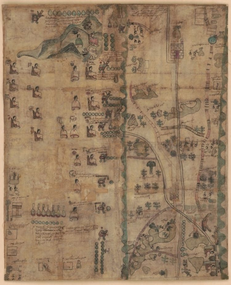 El histórico Códice Quetzalecatzin, disponible en línea (LOC)