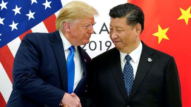 Donald Trump, presidente de Estados Unidos, y su par chino, Xi Jinping (Reuters)