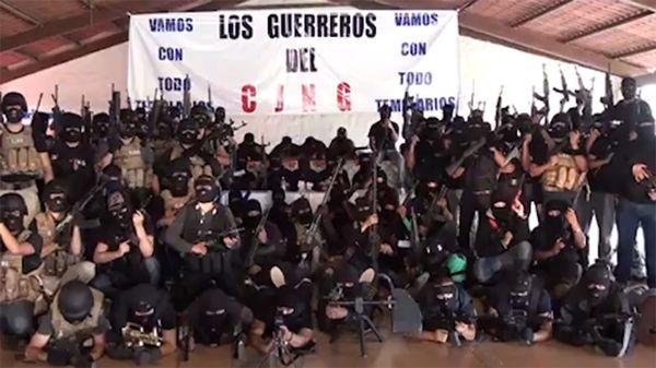 El Cártel Jalisco Nueva Generación, en pleno ascenso en el mundo del narcotráfico.
