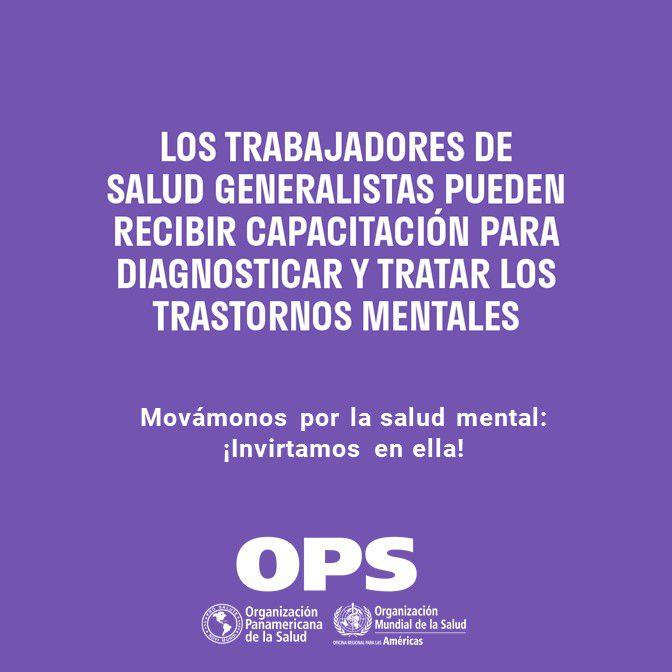 Flyer OPS Salud Mental