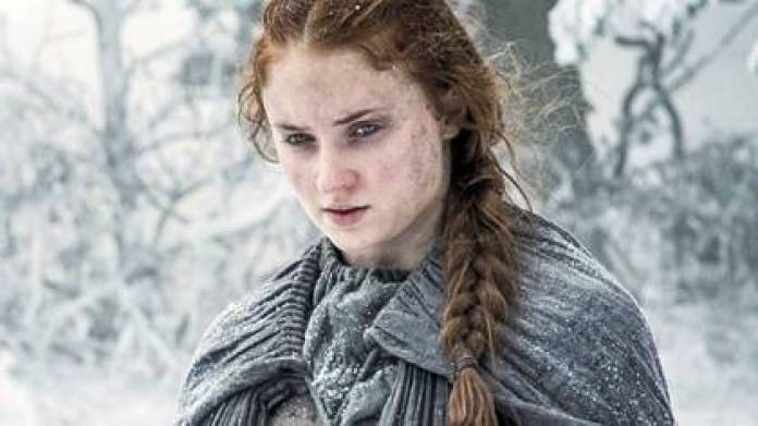 The harsh comments from the audience, criticising their nose, their chin, their weight, their eyes, or their interpretation, led to Sophie Turner to fall into a deep depression (Picture: HBO)