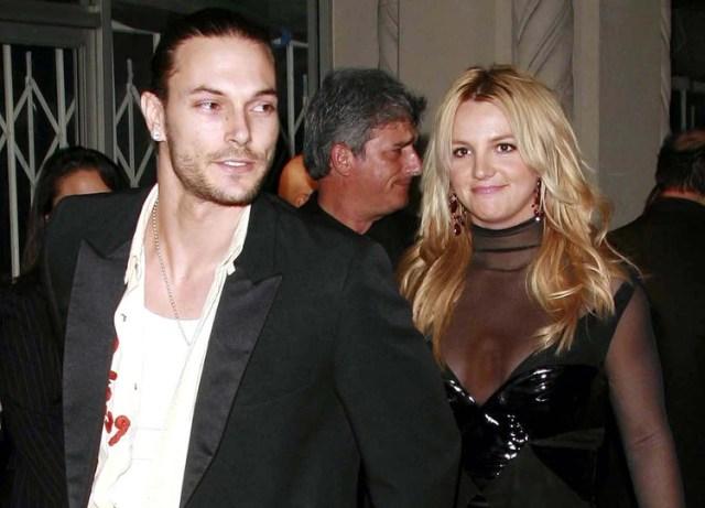 Kevin Federline y Britney Spears (Shutterstock)