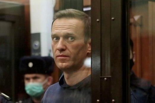 Navalny durante el juicio que lo condenó (Simonovsky District Court//archivo)