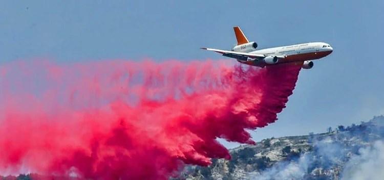 El Supertanker de Boeing que contratará el gobierno boliviano para apagar los incendios forestales
